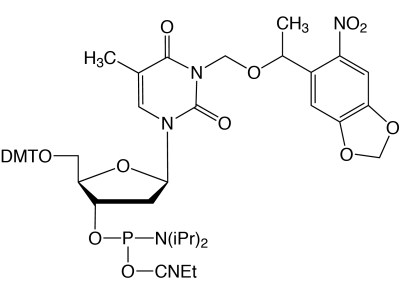 NPOM Caged-dT-CE Phosphoramidite