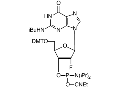 2'-F-G-CE Phosphoramidite