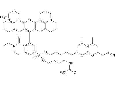 5'-AquaPhluor® 593 CE Phosphoramidite